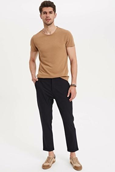 DeFacto Jogger Crop Fit Pantolon Lacivert